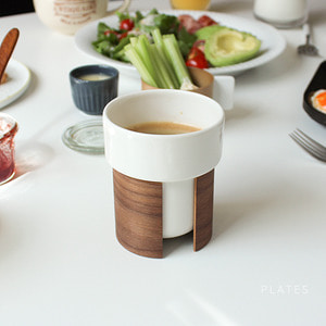 Tonfisk Tea/Coffee Cup 2-pack플레이츠